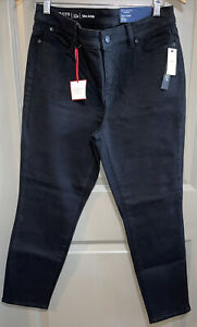 NWT- Talbots Flawless Petite Slim Ankle Jeans 10P Black