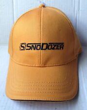 WAUSAU EVEREST SNODOZER SNOW REMOVER BASEBALL CAP HAT, GOLDEN YELLOW, NEW