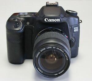 Canon EOS 40D mit Objektiv