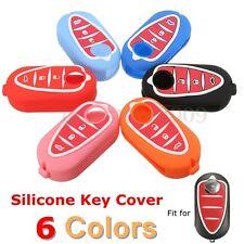 Silicone Remote Key Cover Fob Case For Alfa Romeo Mito Giulietta Gta 4C Brera