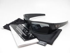 Oakley Gascan 12-856 Matte Black w/Black Iridium Polarized Sunglasses