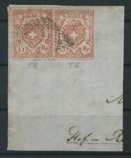 SCHWEIZ 1852 Nr 12 gestempelt (106928)
