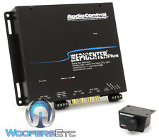 BLACK AUDIOCONTROL EPICENTER PLUS REMOTE BASS ENHANCER AUX INPUT CAR AUDIO NEW