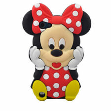 3D Disney Cartoon Soft Silicone Rubber Kids Case Cover For iPhone iPod Touch 5 6