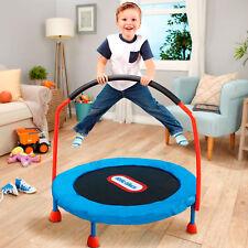 Little Tikes 3ft Indoor Mini Trampoline Jumping Safety Toys Kids Children Jumper