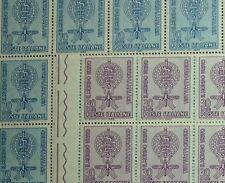 1962 ITALIA 70+30 lire  Malaria  2 valori  MNH**