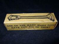 Vintage MARX - Boulevard Lamp Post #074 - Railroad Electric Train Toy - 14 Volts