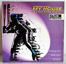 "12"" Vinyl Maxi STRIKING MAN - My House (It´s Not Even Music)"