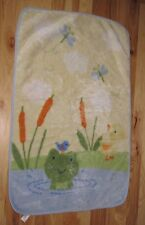CARTERS FROG BIRD DUCK DRAGONFLY BUTTERFLY UNISEX BABY BLANKET LUXE PLUSH FLEECE