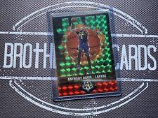 Anthony Davis 2019-20 Mosaic Green Jam Masters LA Lakers