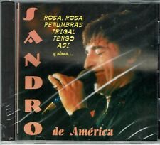 Sandro  de America  Rosa Rosa-Trigal y Otros  Exitos   BRAND  NEW SEALED  CD