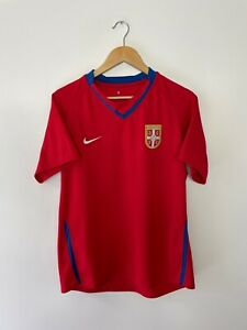 SERBIA 2008-09 (LARGE) HOME FOOTBALL SHIRT NIKE VINTAGE CLASSIC RETRO