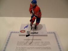 Mike Cammalleri Autographed Montreal Canadiens McFarlane COA Nice Autograph