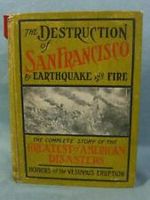 """Beautiful copy of """"The destruction of San Francisco by earthquake and fire."""""""