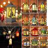 Xmas Christmas Tree Hanging Lamp Santa Claus Deer Snowman Light Hotel Home Decor