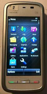PROTOTYPE Nokia 5230 Nuron White (Consumer Cellular) Smartphone Fast Ship NEW