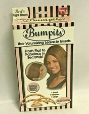 Bumpits Hair Volumizing Leave-In Inserts Set of 3, Light Brown