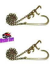 G70 J HOOK, Grab, R, T, Mini J Hooks 6' - Wrecker, Roll Back tow chains -1 Pair