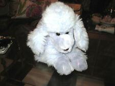 PURPLE POODLE fluffy cute rockabilly Vanity Tissue kleenex DISPENSER Cover box
