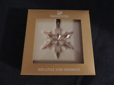 SWAROVSKI 2015 SCS SMALL AMBER ORNAMENT 5135931 FREE SHIPPING AND INSURANCE