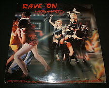 "RAVE ON ""HITS HARD"" 1985 RARE METAL COMP MERCYFUL FATE SORTILEGE EVIL HBOMB ETC"