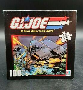 MIB 2002 Hasbro Milton Bradley GI Joe Cobra Dominator Vehicle 100 Piece Puzzle