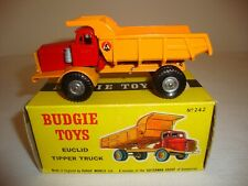 BUDGIE TOYS 242 EUCLID TIPPER TRUCK - EXCELLENT in original BOX