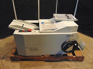 Standard Register 609E Image Seal With Extra Trays & Operator Manual - S3648x