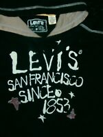 SUPERB QUALITY RARE VINTAGE LEVIs SAN FRANCISCO Hoodie SUPREME NAVY HOODY SZ M