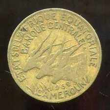 AFRIQUE EQUATORIALE  10  francs 1969  ( bis )