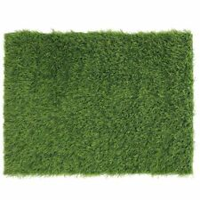Artificial Grass Door Mat Indoor Outdoor Rug for Pets Decoration, 17 x 24 Inches