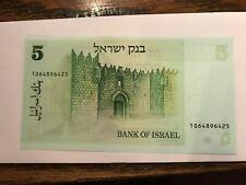 1978 Israel 5 Sheqalim Note Bu #20925