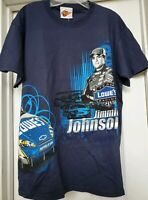 New NASCAR T Shirt  Jimmie Johnson Sport Racing  Winners Circle Lowes 48 Size L