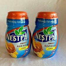 Lot 2 Nestea Lemon Sweet Iced Tea Mix Instant Powder 45.1 oz Disc EXPIRES 2020