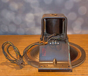 Vintage Stromberg Carlson Field Coil Speaker P-155019, 210 Ohms