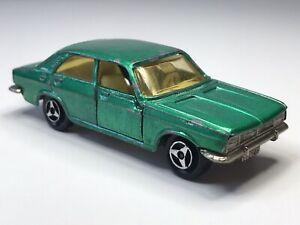 Vintage Majorette France No208 Chrysler 180 Metallic Green Loose