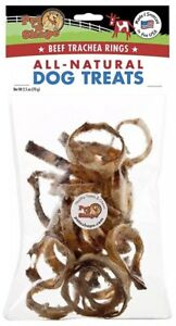 Pet n Shape - Made in USA - Beef Trachea Snack Bag All Natural Dog Treats, Rings
