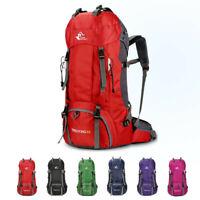 60L Rucksack Schulrucksack Backpack Sport Reise Freizeit Wanderrucksack Tasche