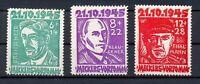 SBZ 20-22 Opfer des Faschismus postfrisch komplett (qr40)