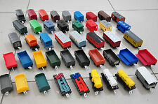 BULK 10x THOMAS CARRIAGES TRACKMASTER - FLATBED TRAM MAIL MILK DIESEL TANKER