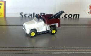 White Tow Truck #1364 Custom Built Body(ONLY) for Aurora Tjet Chassis