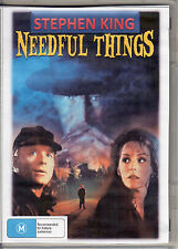 STEPHEN KING NEEDFUL THINGS -  MAX VON SYDOW & ED HARRIS ALL REGION DVD*