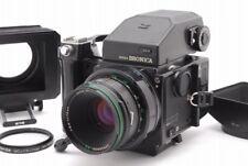 N MINT ZENZA BRONICA ETRS AE-II Finder w/75mm F2.8 lens L-Grip Food From JP Z409