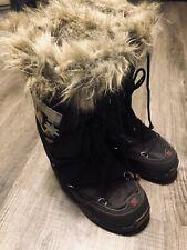 [RARE] DC CHALET WINTER SNOW BOOTS (WOMANS SIZE M 7L/8L) FURRY BROWN