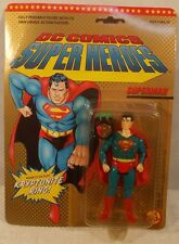 1989 DC Super Heroes Superman Figure Kryptonite Ring MOC ToyBiz Super Powers