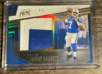 2019 Panini Chronicles Jacoby Brissett Prime Swatches Gold 4/5 Jumbo Patch Colts
