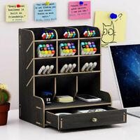 Schreibtisch-Organizer-Set Schreibtischbutler Büro-Zubehör Stiftehalter