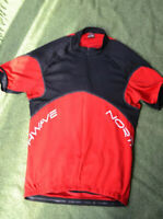 Northwave Cycling Top. Size  XL Red/Black. Pockets!
