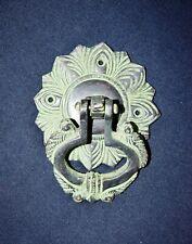 Brass Antique Door Knocker Parrot Flower Handmade Design Baby Home Doorbell CA21