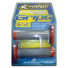 Renthal Dual Compound Handlebar Grips-Orange